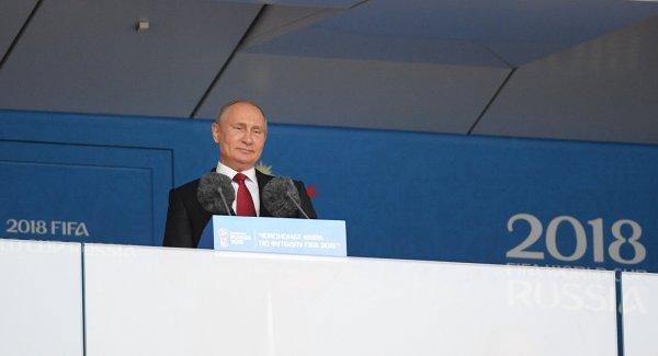 Песков: «Путин положительно впечатлен после матча с Саудовской Аравией»