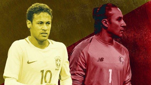 Букмекеры определили вероятность выигрыша Коста-Рики у Бразилии на ЧМ-2018