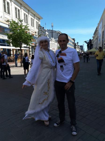 Мне здесь всё нравится: Английский болельщик отказывается покидать Казань