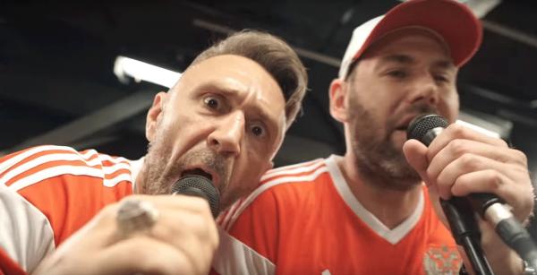 Слепаков и Шнуров поддержали сборную России по футболу клипом «Чемпионы»