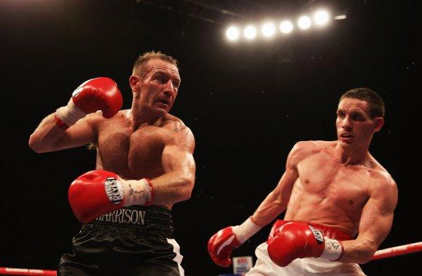 Бывший боксёр Скотт Харрисон вышел из тюрьмы и возвращается на ринг